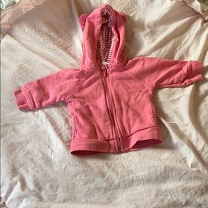 HANNA ANDERSSON 6-12M PINK BEAR JACKET